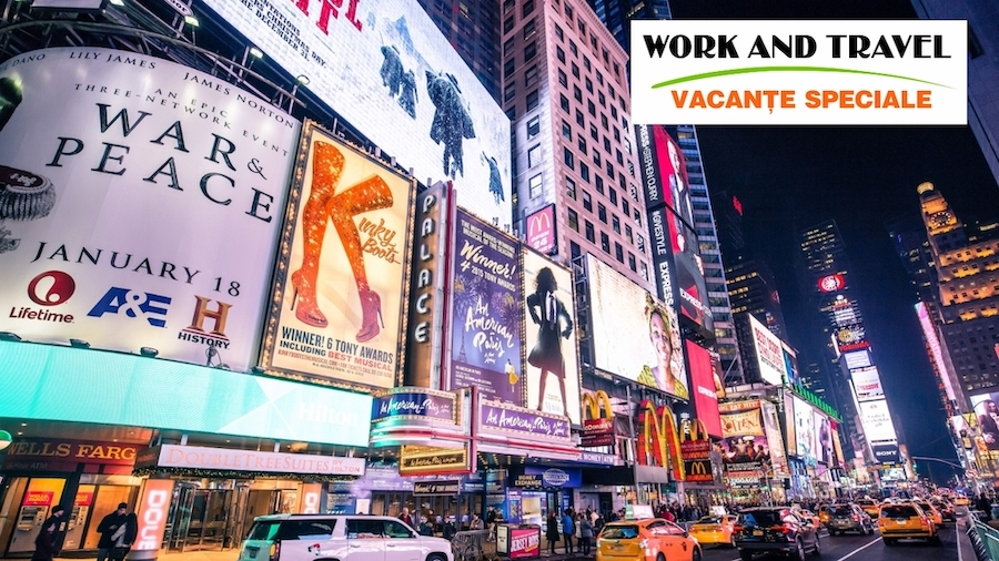 Work and Travel Vacante Speciale